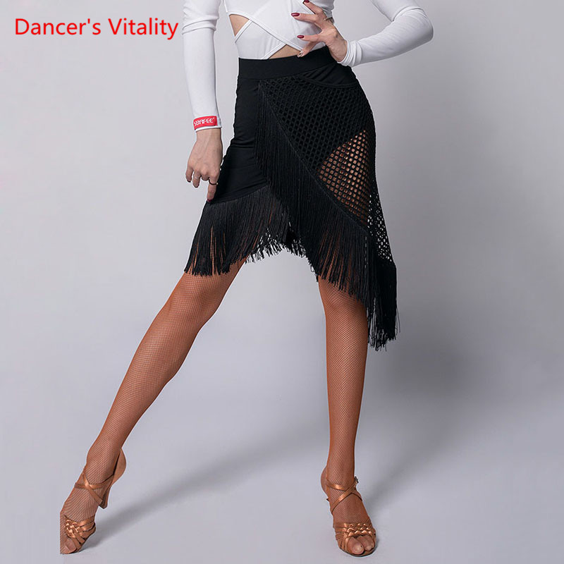 Latin Dance Competition Clothes Female Adult Temperament Tassel Skirt New Profession Performance Practice Clothing