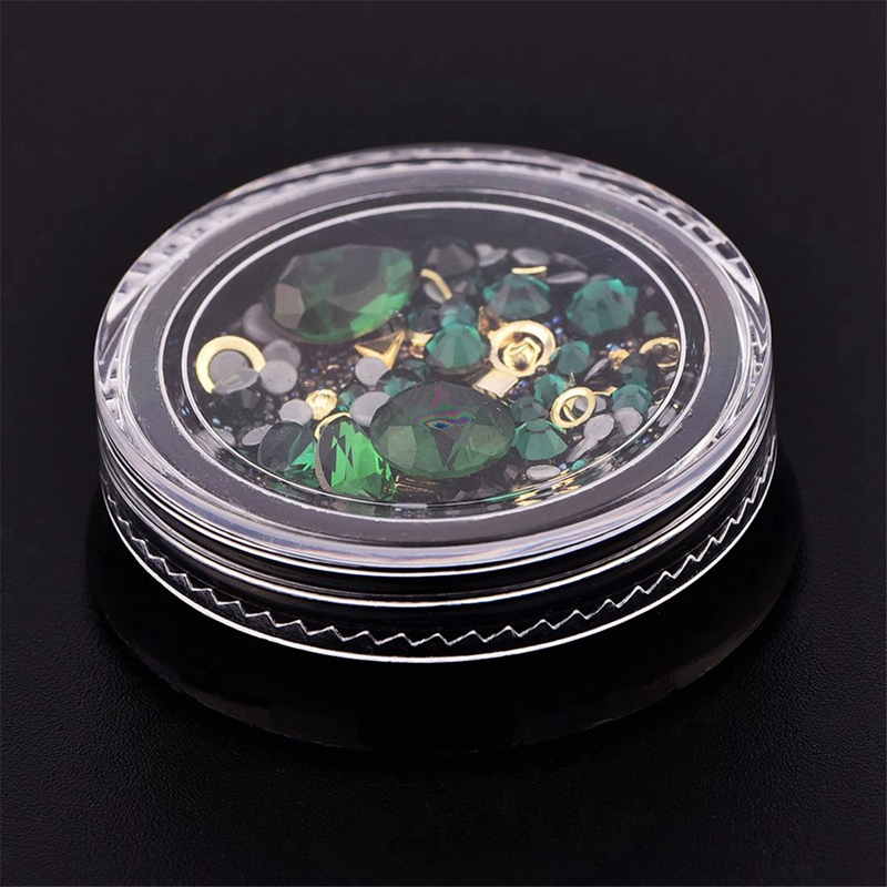 colorido misturado acrilico ponta diamante pedra joia 05