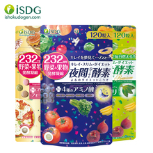 [Japan NO.1 Enzyme] ISDG Night+ Gold+Diet Enzyme.With 232 Natural Fruits & Vegetables for Better Digestion & Fat-Burning. 3 pack