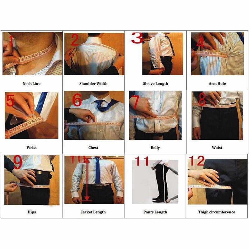Nowe męskie 3 kawałki garnitury dla mężczyzn Custom Made Terno Slim Groom niestandardowy ślub mężczyźni garnitur Masculino (kurtka + spodnie + kamizelka)