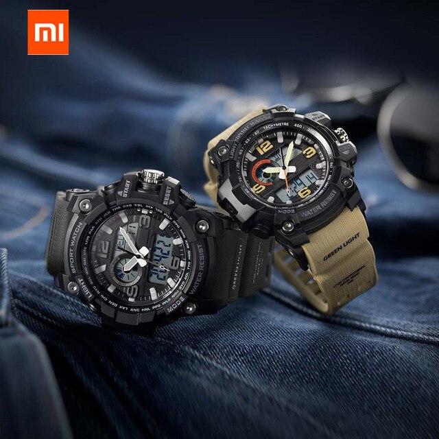 Share To Xiaomi 50ATM Waterproof Electronics Display Watch Time Display Calendar Countdown Outdoor Sport Digital Watch 1