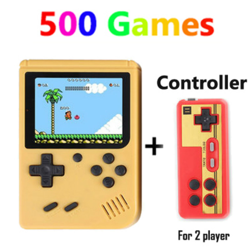Coolboy Retro Mini 2 Handheld Game Console Emulator built-in 500 games Video Games Handheld Console