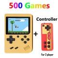 Coolboy Retro Mini 2 Handheld Spielkonsole Emulator eingebaute 500 spiele Video Spiele Handheld Konsole Portable Spielkonsolen Verbraucherelektronik -