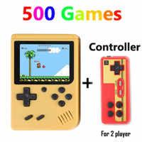 Coolboy Retro Mini 2 Palmare Console di Gioco Emulatore Built-in 500 Giochi di Video Giochi Console Portatile