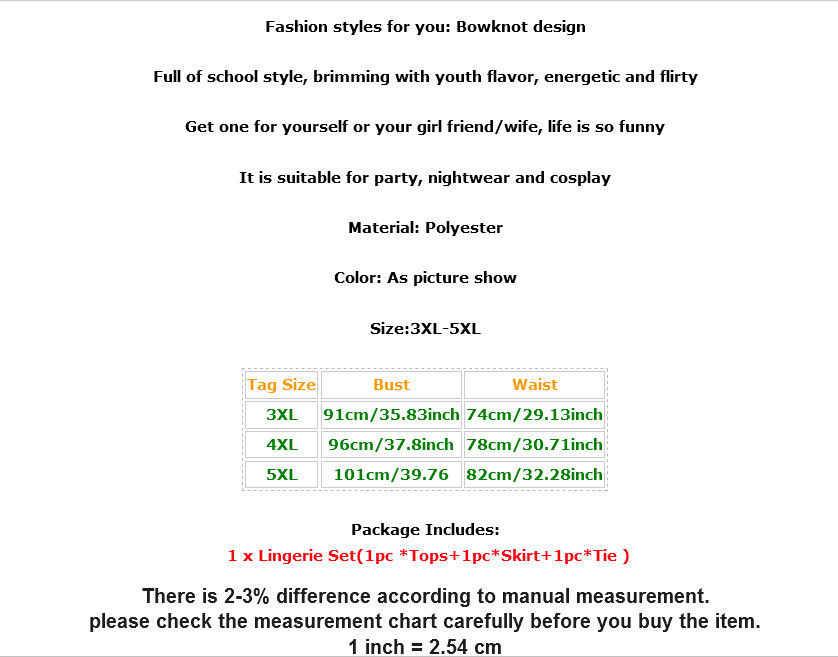 Порно сексуальный женское нижнее белье шотландские школьницы комбинезон Униформа костюм горячее эротическое платье плюс размер 3XL 4XL 5XL