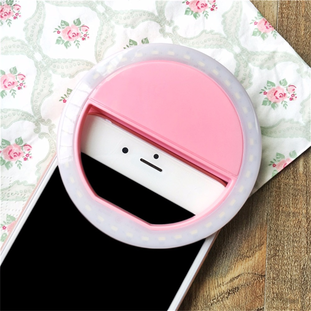 cheapest Flash 36LED Photographic Lighting Dimmable Camera Photo Studio Video Photography Selfie Ring Light for iphone7 Samsung Huawei