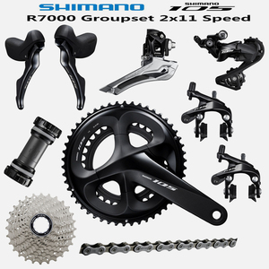 Image 1 - SHIMANO 5800 105 R7000 Groupset R7000 Derailleurs ROAD Bicycle 165 170 172.5 175MM   12 25 11 28 30T 32T34T  50 34 52 36 53 39T