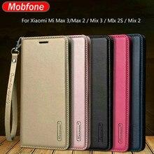Hanman For Xiaomi Mi 10 9T Pro Mi9 Lite A2 Lite A3 Redmi K20 K30 Business Leather Wallet Case Mi Max 3 2 Mix 3 2 2s Flip Cover