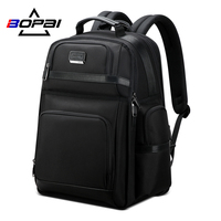 BOPAI USB anti theft backpack business travel bag 15.6inch computer multi function bag for men