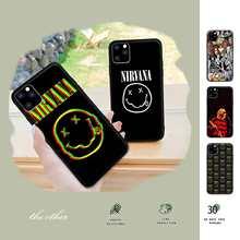 Popolar Nirvana Kurt Cobain Telefone Móvel Da Tampa Do Caso Para Samsung Galaxy M30S A01 A21 A31 A51 A71 A91 A10S A20S A30S A50S