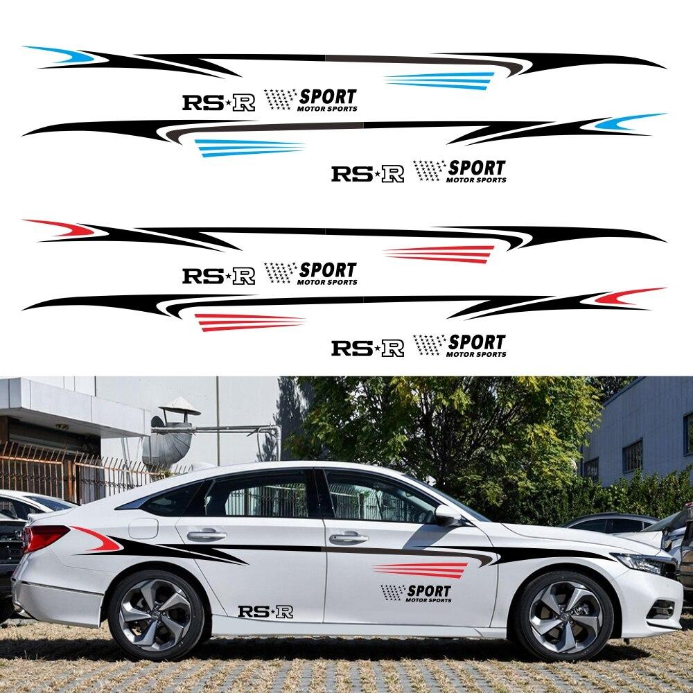Модификация автомобиля, линия талии, кузова, наклейки, индивидуальные модификации, наклейки для всего автомобиля, гирлянды, модели, универс...