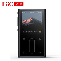 FiiO M3K Sport Audio Mini Lcd screen Mp3 Player Music Audio Mp 3 With Voice Recoder for Student,Kids with Earphone EM3K Optional