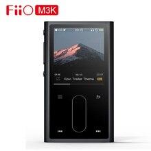 Fiio m3k mini tocador de mp3 com tela de lcd, áudio mp 3 com recuperador de voz para estudantes crianças com fone de ouvido em3k opcional