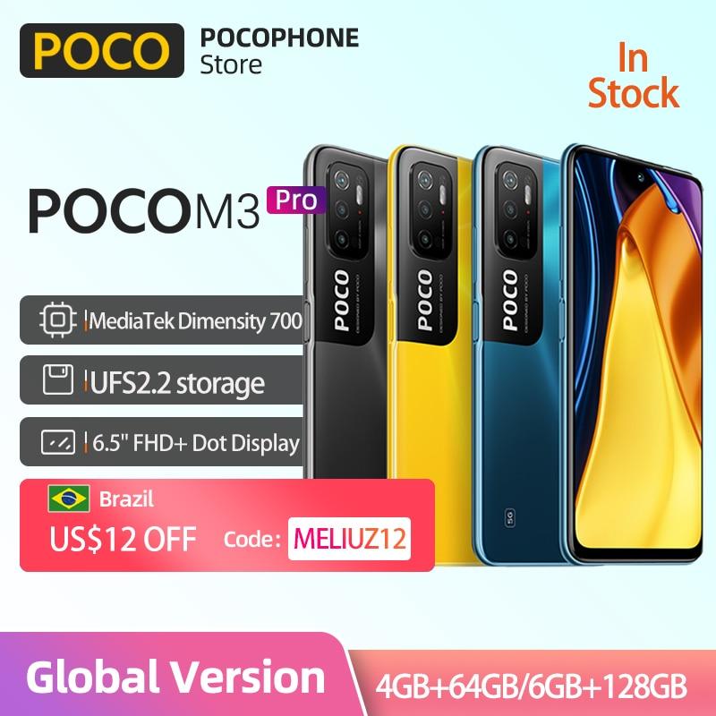 In Stock Global Version POCO M3 Pro 5G NFC 5000mAh 48MP Triple...