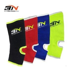 BN нейлоновый фитнес/ММА/бокс/Муай Тай спортивный бандаж для лодыжки предтехник Защита ног поддержка бега баскетбольные ремни безопасности ...