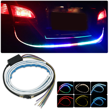 Car LED Strip Turn Signal Strip Trunk luggage light For BMW E46 E60 E90 E30 E92 E93 F30 E36 E39 F10 E85 X5 X3 M3 M5 M Series image