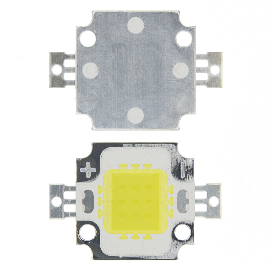 10W LED White Cold White Led Chip For Integrated Spotlight 12v DIY Projector Outdoor Flood Light Super Bright