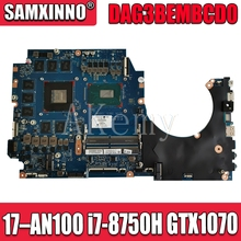 Akemy FOR HP OMEN 17-AN100 Laptop Motherboard W/ I7-8750H CP