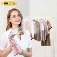 HiPiCok Garment Steamer Steam Iron Handheld Steamer for Clothes 1500W 350ml Steam Generator Travel Iron Ironing Machine for Home