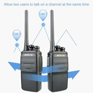 Image 2 - Retevis rt53 dmr digital walkie talkie uhf dmo vox analógico digital em dois sentidos rádio comunicador transceptor handsfree walkie talkie
