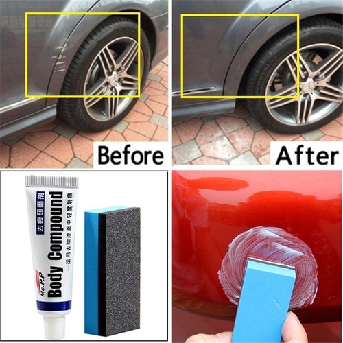 Simple Car Repair Body Compound Paste Set Scratch De-mark Abrasive Paint Care Auto Polishing Grinding Polish Car Accessories