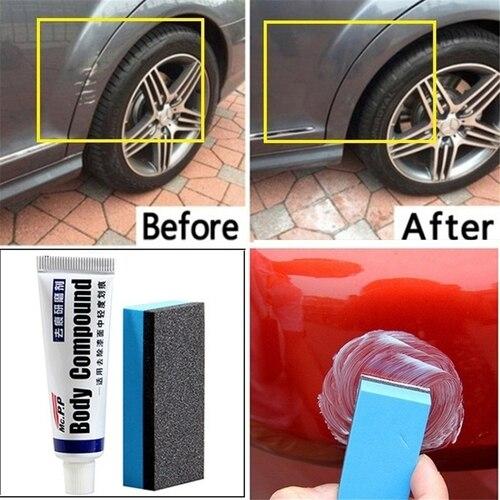 Simple Car Repair Body Compound Paste Set Scratch De-mark Abrasive Paint Care Auto Polishing Grinding Polish Car Accessories