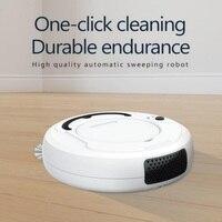 Otomatik akıllı Mini vakum temizleme ev Robot USB şarj zemin temizleyici süpürme süper güçlü emiş vakum makinesi|Süpürgeler ve Faraşlar|   -