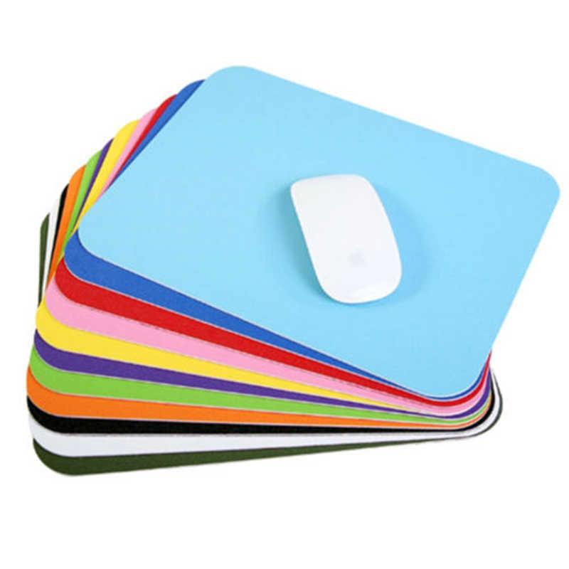 8 couleurs anti-dérapant en caoutchouc tapis de souris Simple bureau ordinateur bureau tapis ordinateur portable ordinateur portable coussin tapis de souris tapis de souris de jeu
