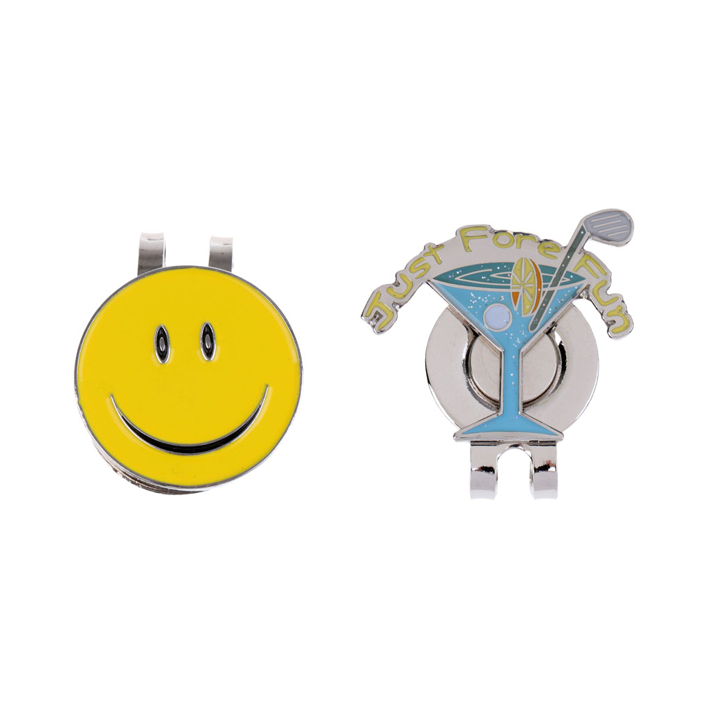 2 Pieces Golf Hat Clip With Detachable Magnetic Portable Golf Ball Marker Cap Clip Golf Gift