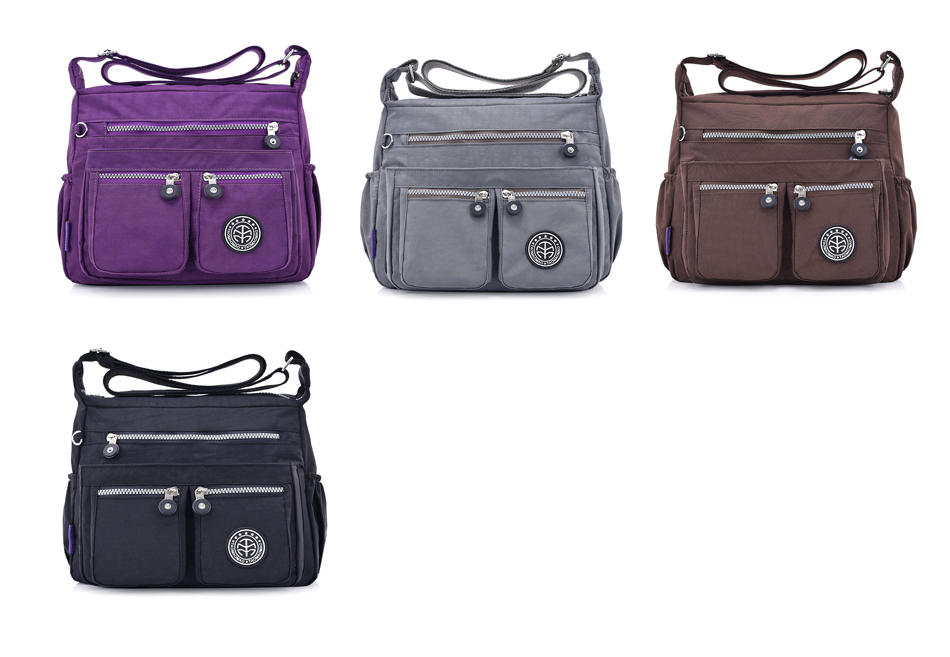 H0cc1fcac958b4aeab048c194b13f2934A - Waterproof Nylon Women Messenger Bags Carteira Vintage Hobos Ladies Handbag Female Crossbody Bags Shoulder Bags