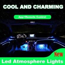 Светодиодный подсветка для салона автомобиля декоративсветильник