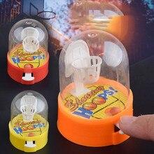 Милый мини баскетбольный мяч ручной палец мяч уменьшить давление плеер стрельба головоломки детские игрушки подарок для Детские вееры клуб