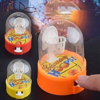 Милая Мини-баскетбольная машина, ручной мяч для пальцев, снижение давления, игрок-головоломка для стрельбы, детские игрушки, подарок для дет...
