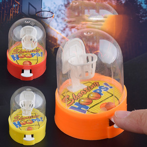 Cute Mini Basketball Machine Handheld Finger Ball Reduce Pressure Player Shooting Puzzle Children Toys Gift for Kids Fans Club(China)