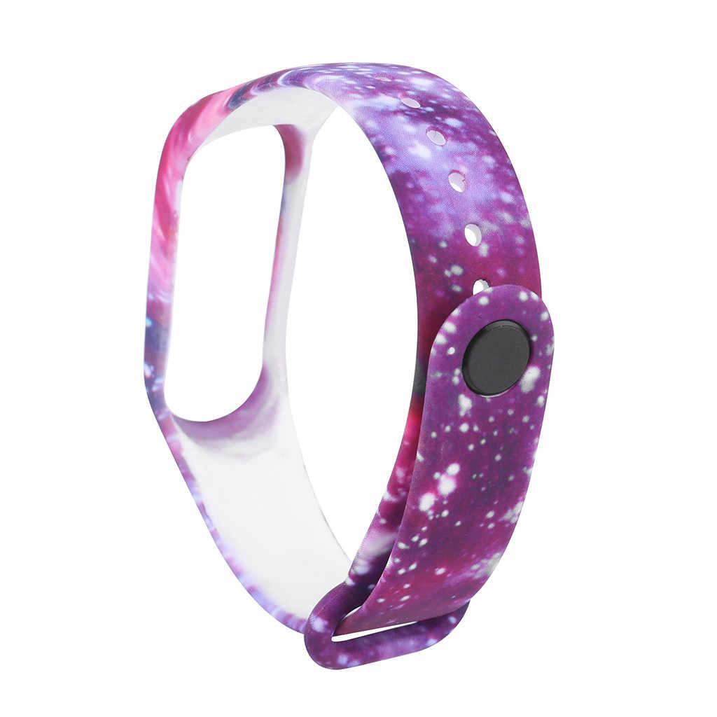 Intelligente Accessorio 16 millimetri di Silicone Cinghia di Polso Della Fascia Compatibile Per Xiao mi mi fascia 4 Wristband di Ricambio fascia Del Braccialetto Del Silicone