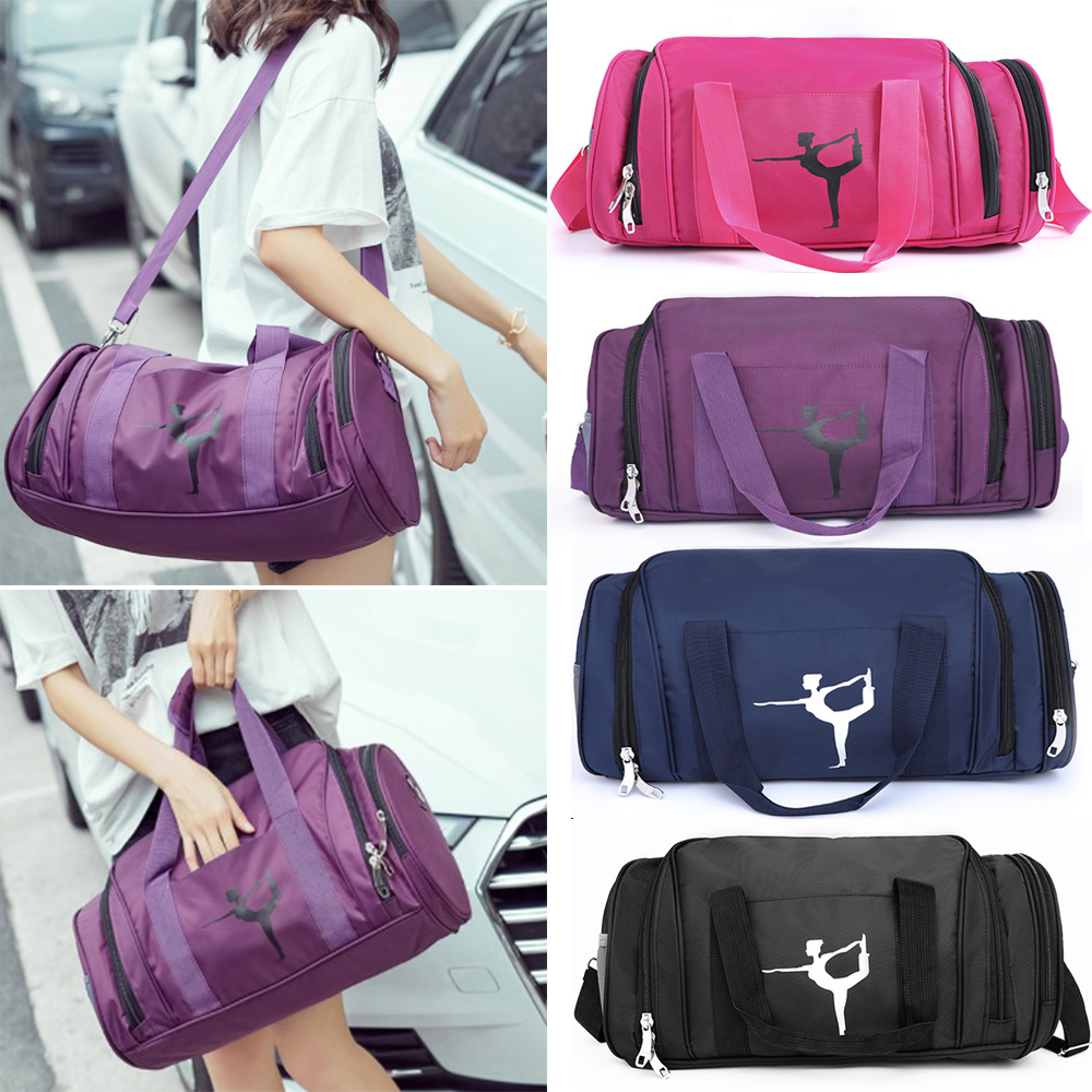 Large Capacity Yoga Bags Oxford Cloth Men Women Fitness Bag Shoulder Crossbody Sport Handbag With Shoes Position Gym Bags D30