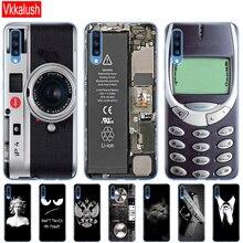 Чехол для Samsung A70, чехол 2019 дюйма, мягкая задняя крышка телефона из ТПУ для Samsung Galaxy A70, силиконовый чехол, оболочка Capa 70 A705 A705F, задняя крышка