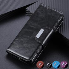 6 Card Slots Wallet Flip Leather Case for Huawei Mate 30 Lite P30 Pro Y5 Y6 Y9 Stand Magnetic Closure ID & Credit Cards Pocket