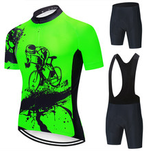 New 2021 BIKE Cycling Set Man Cycling Jersey Short Sleeve Bicycle Cycling Clothing Kit Mtb Bike Wear Triathlon Maillot Ciclismo