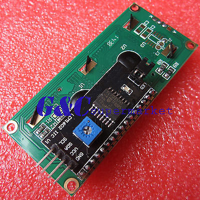 1pcs Blue Display IIC I2C TWI SPI Serial Interface 1602 LCD Module Diy Electronics