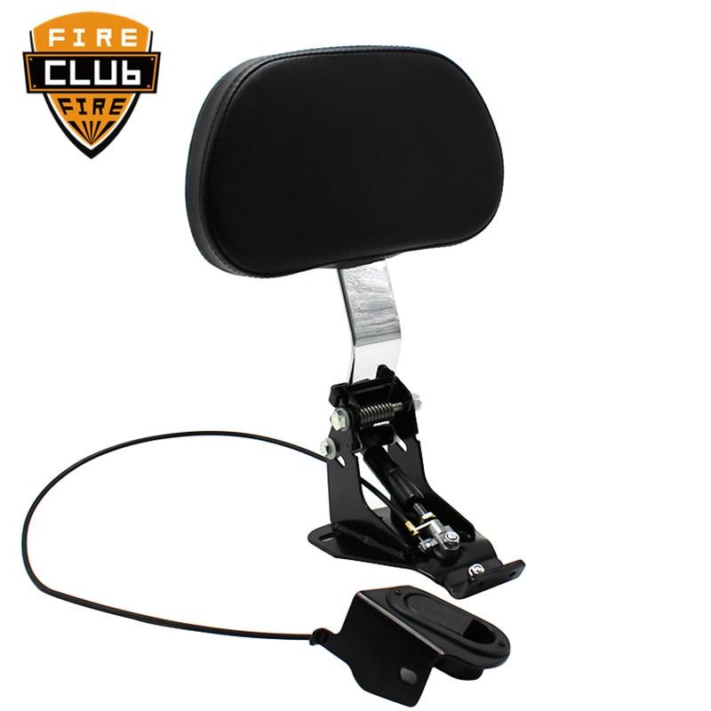 Motorcycle Adjustable Driver Rider…