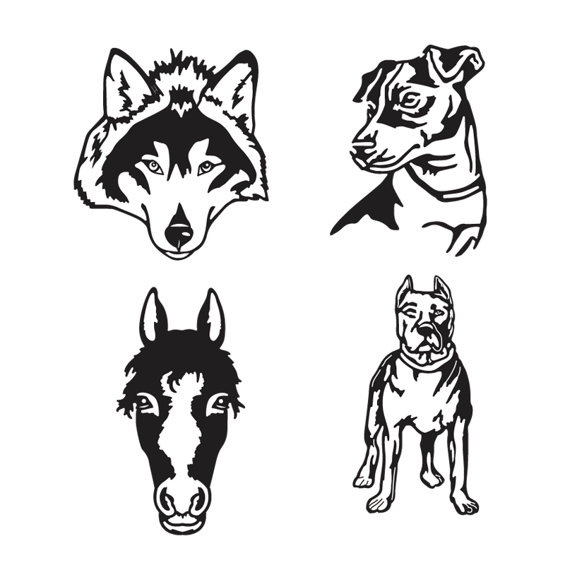 Dog Frame Letter Metal Cutting Dies Animal Mold Cut Die Scrapbook Paper Craft Knife Mould Blade Punch Stencil Stamps And Dies