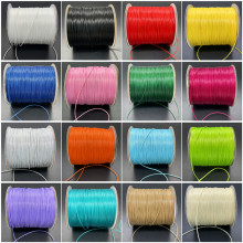 Novo 0.5/0.8/1.0/1.5/2.0/2.5mm fio fio de algodão encerado corda colar corda para fazer jóias para shamballa pulseira