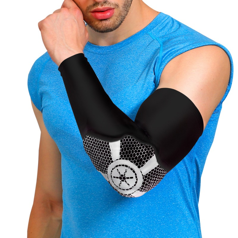 Basketball Baseball Arm Guards Breathable Long Elbow Joint Wristbands Outdoor Riding Hiking Football Sports Safety Supplies