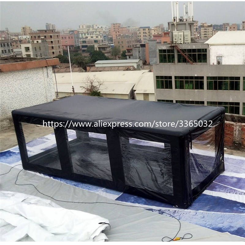 Outdoor Waterproof  Cover Tent Garage Hail Proof Automatic Display Showcase  Motorcycle Inflatable Car Shelter