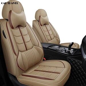 Image 1 - Ön ve arka deri oto araba koltuğu için Chevrolet CRUZE yelken aşk AVEO EPICA CAPTIVA kobalt Malibu AVEO LACETTI yastık