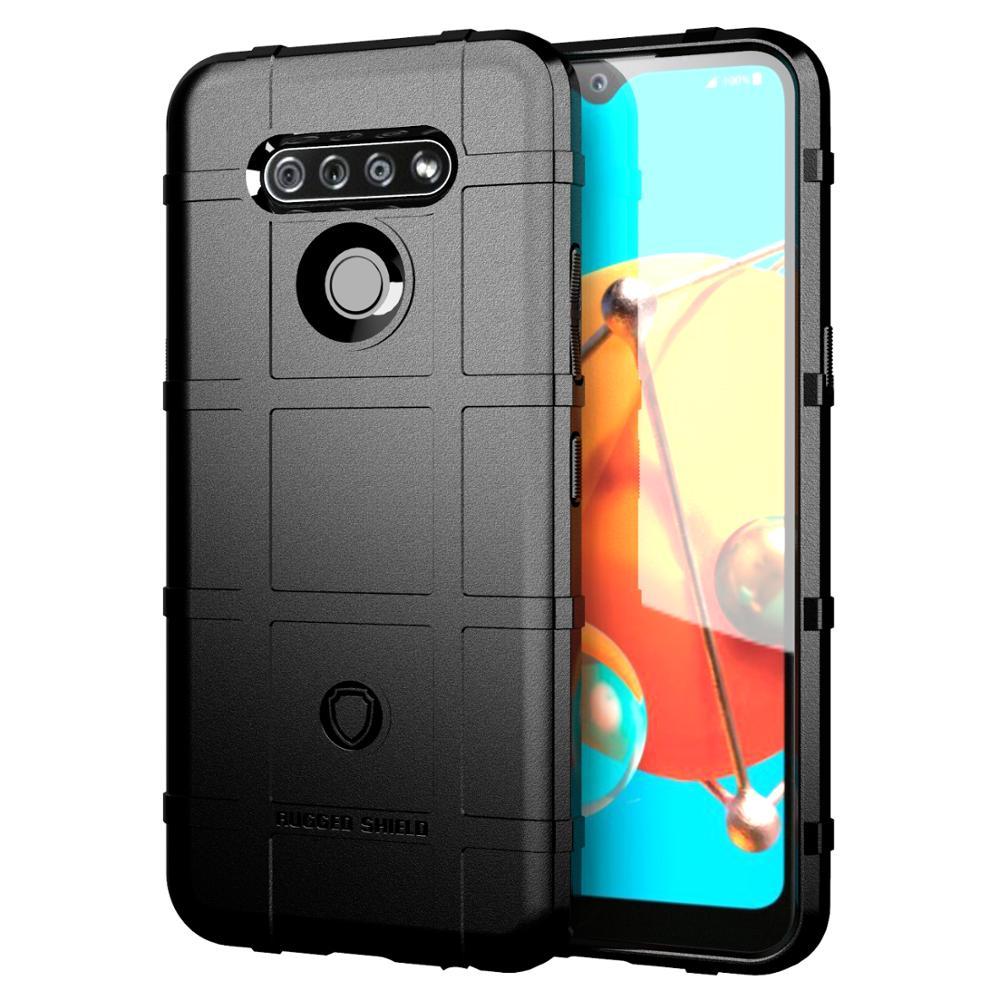 Armor Case For LG K31 K51 K40 K50S Q51 K61 Q61 K50 K60 K70 Stylo5 Stylo6 Heavey Duty Shockproof Cover Stylo 5 6 Skin Coque Capa
