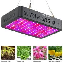 Famurs Led Coltiva La Luce 1000 W/1200 W/1500 W/2000 W/3000 W Spettro Completo triple-Chip Veg Bloom Interruttore per Le Piante D'appartamento Crescere Tenda(China)