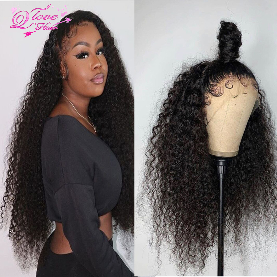 13x4/13x6 Lace Front Wigs Brazilian Human Hair Lace Frontal Wigs Curly Wigs Remy Hair Transparent Lace Wig Pre Plucked Lace Wigs