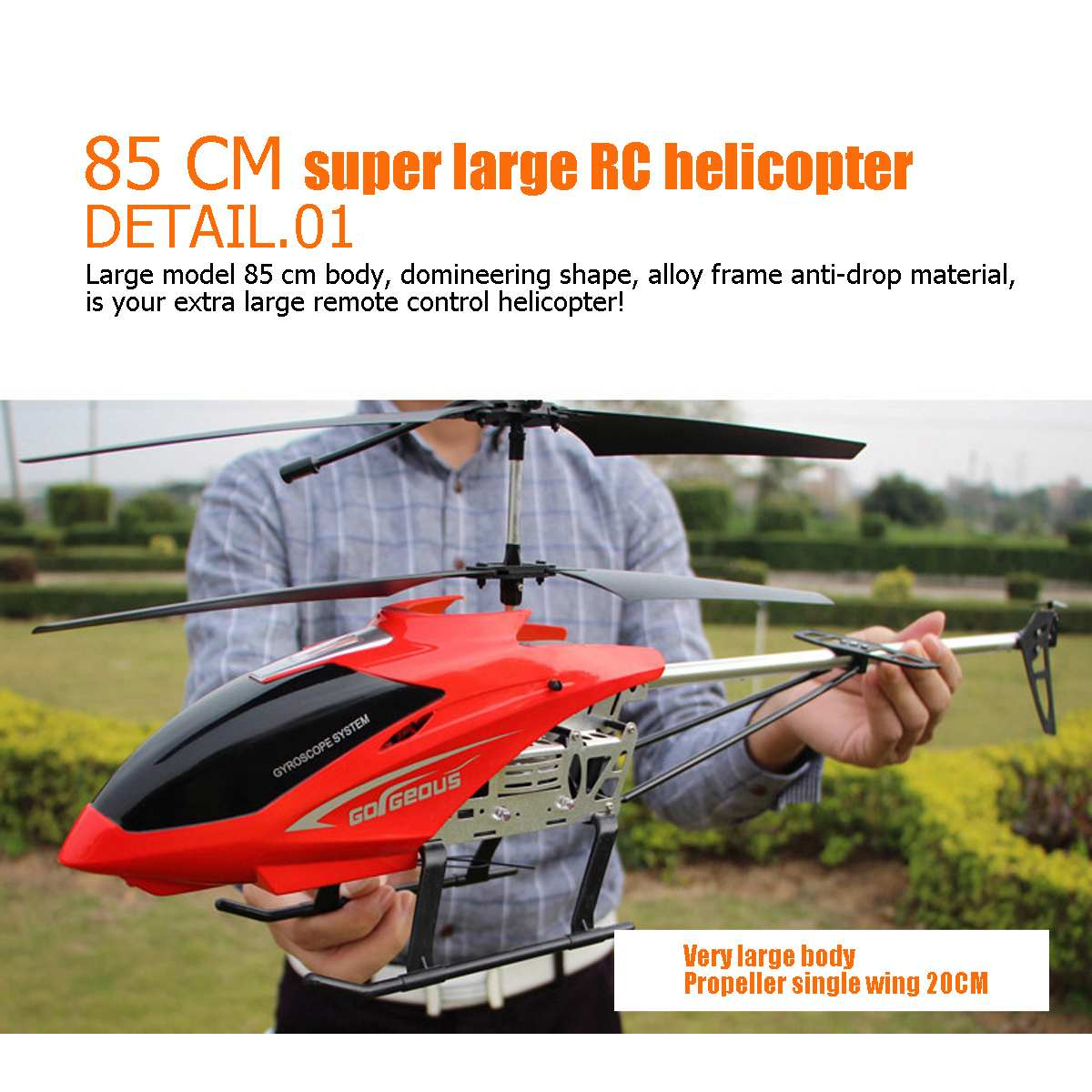 Hot 2019 New Remote Control Helicopter Hovering Resistance 3.5CH Alloy With Gyro Led Flashing Remote Control Toy Kids Gift|RC Helicopters| |  - title=